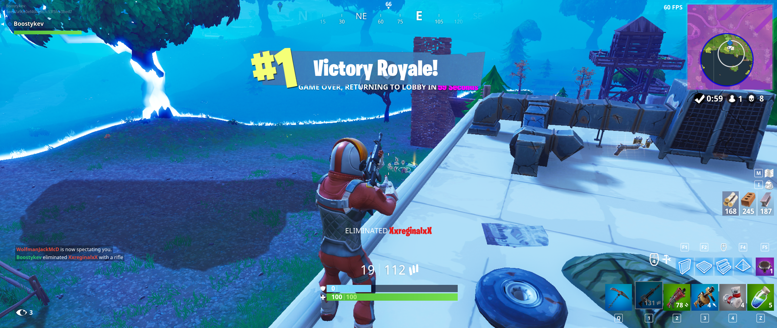 Just Wanted To Share My 8 Kill Fortnite Dubbb Latestgames Pinterest