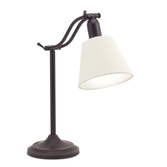 Ottlite Marietta Table Lamp Antiqued Bronze Desk And Table Lamps Natural Daylight Lighting Metal Desk Lamps Desk Lamp Lamp