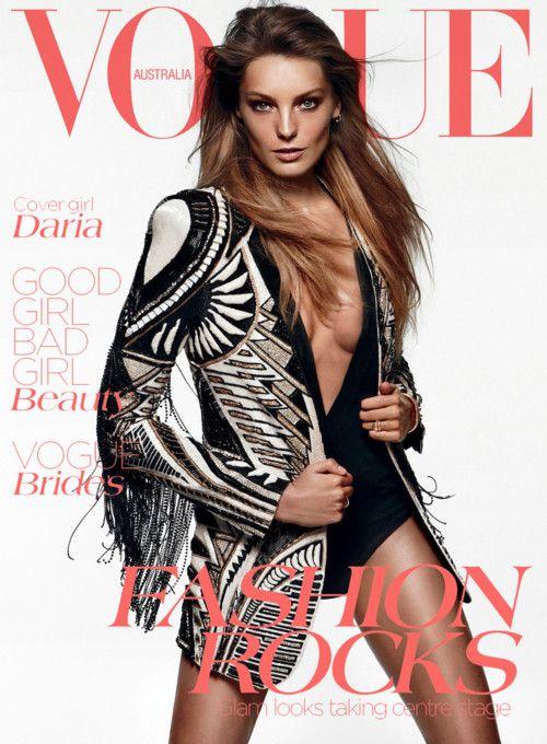 Daria Werbowy for Vogue Australia