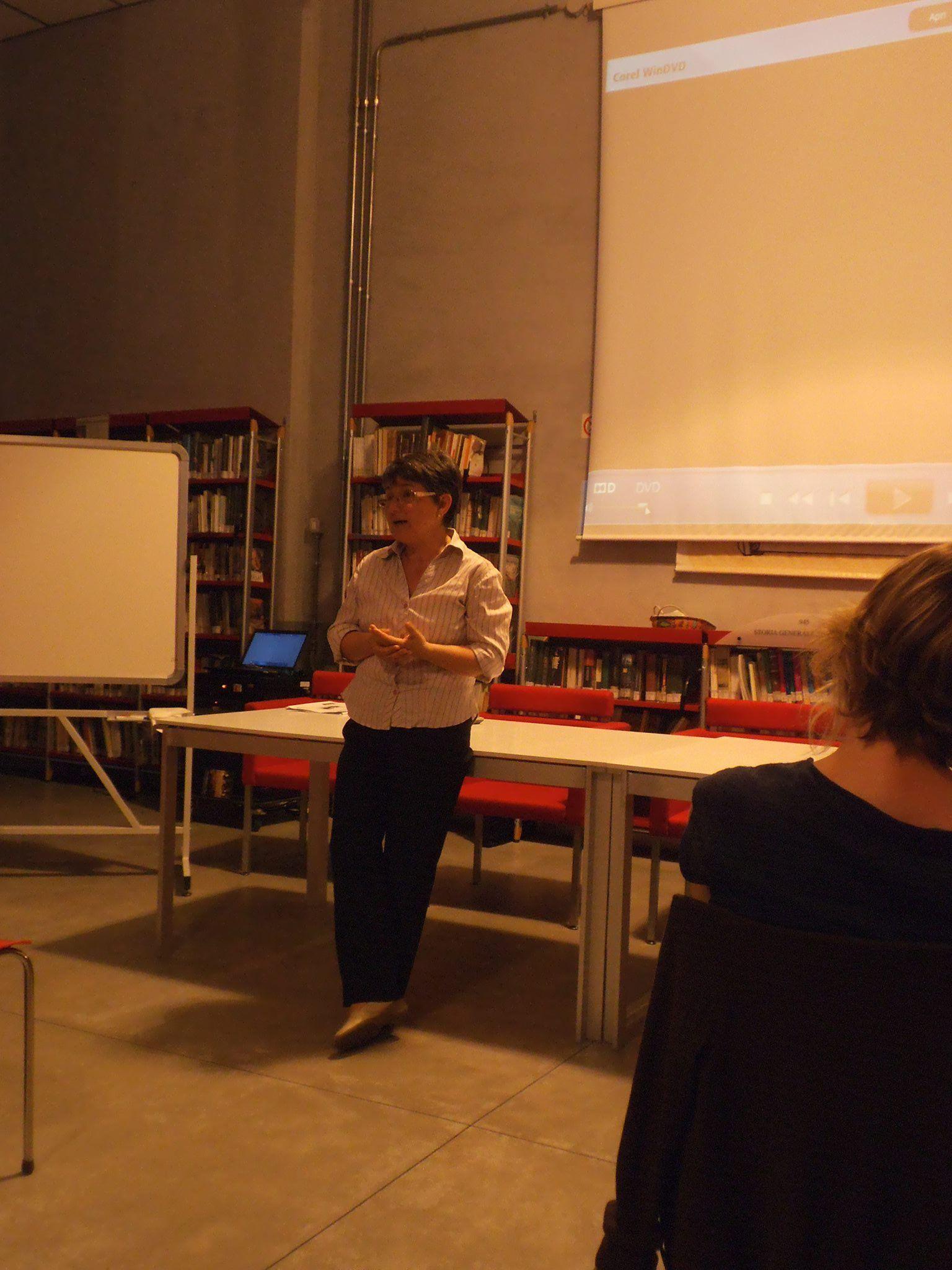 Luisa Giorda, assessora alle attività culturali a Borgo San Dalmazzo, ha illustrato i progetti del Comune con il carcere di Cuneo