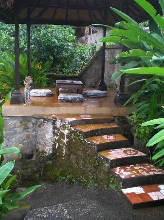 Meditation/reading Platform In Lower Garden