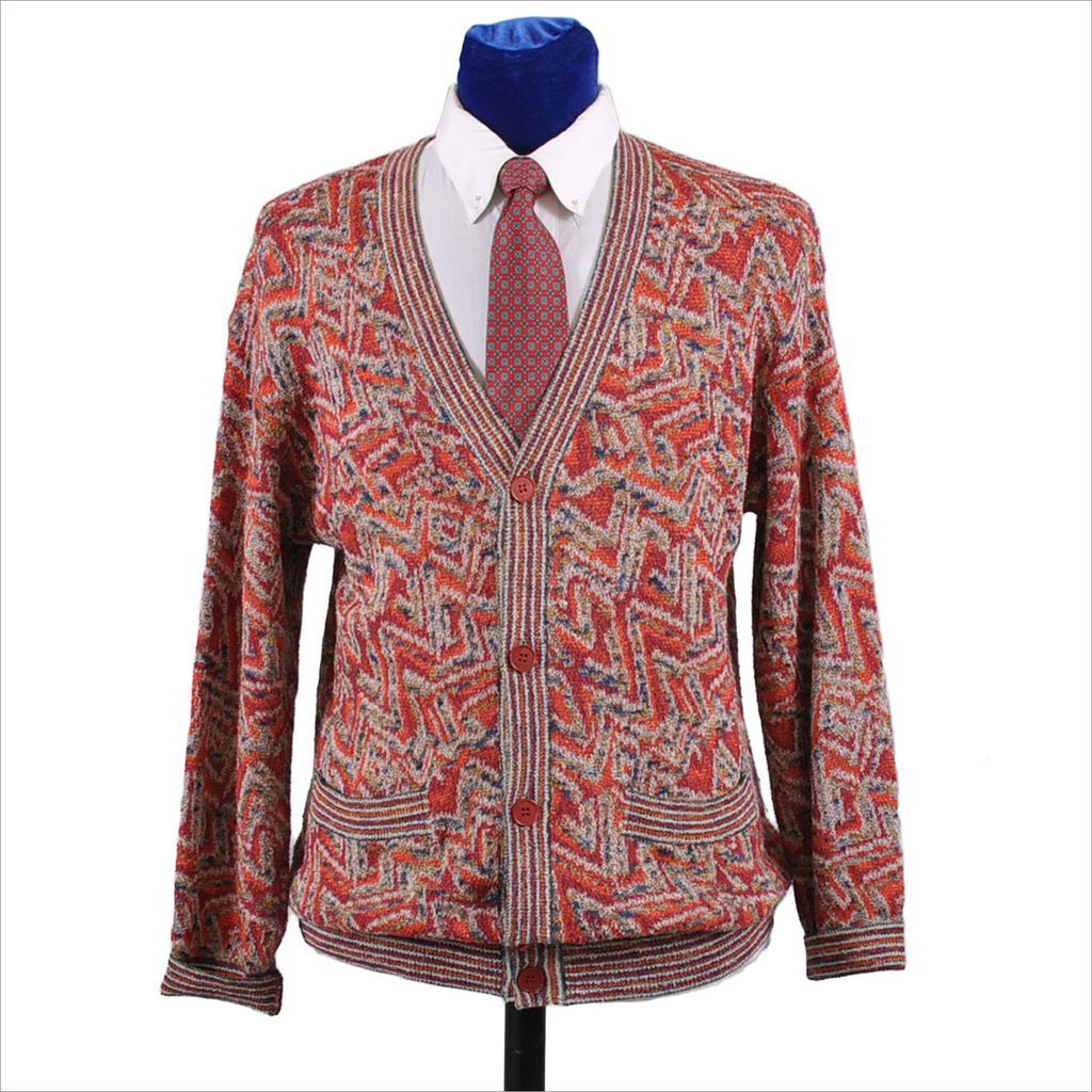 f1a0e1520b Vintage Missoni Men s Cardian Sweater - M   L from mairemcleod on Ruby Lane