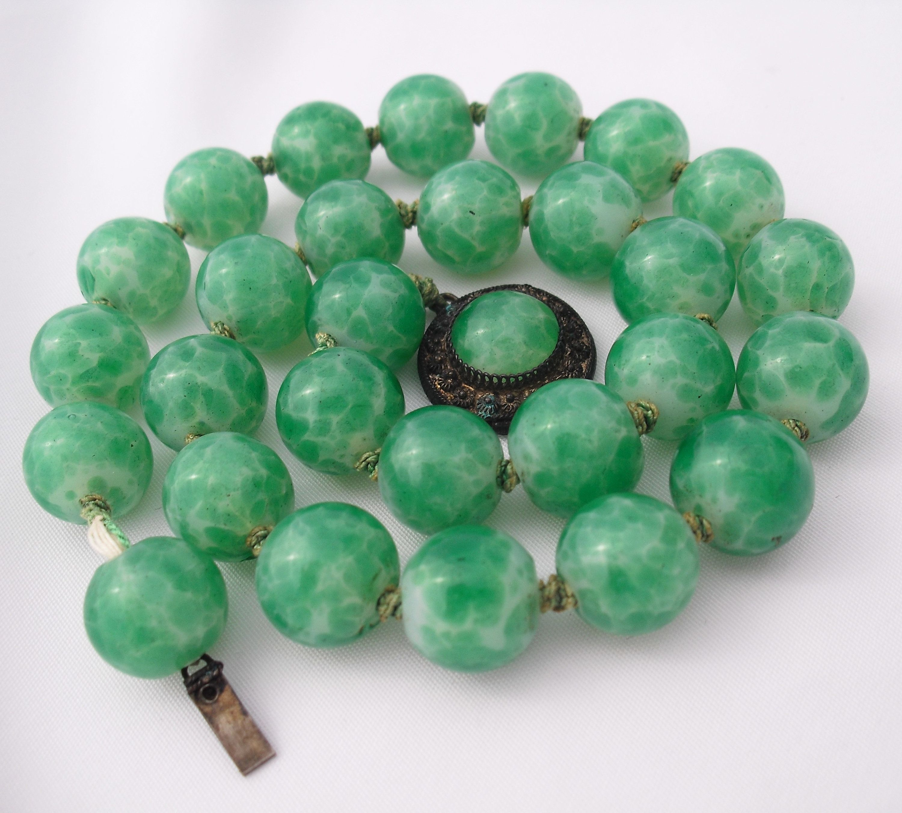chinese necklace lot two max auction imperial necklaces jade