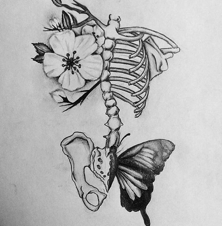 Scoliosis tattoo