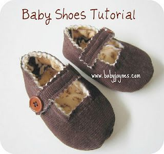 Tutorial - Baby Shoes