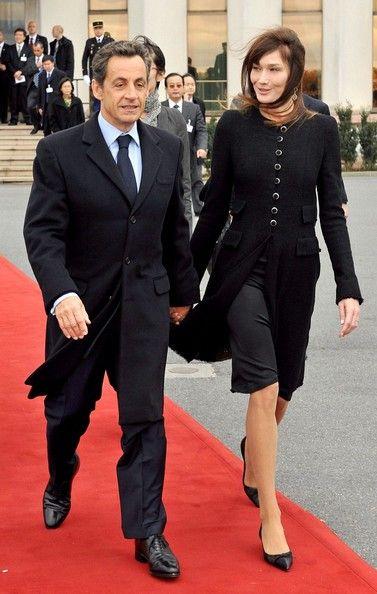 Carla Bruni-Sarkozy Photos  Nicolas Sarkozy and Carla Bruni Welcom  President Hu Jintao 6ca7c5d68a4f