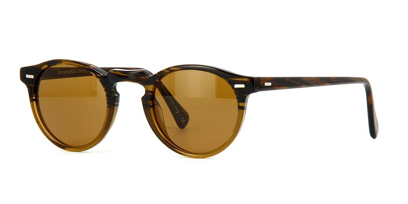 4a8d14654ad Oliver Peoples Gregory Peck Sun OV5217S 1001 53 Tortoise B15 Brown ...