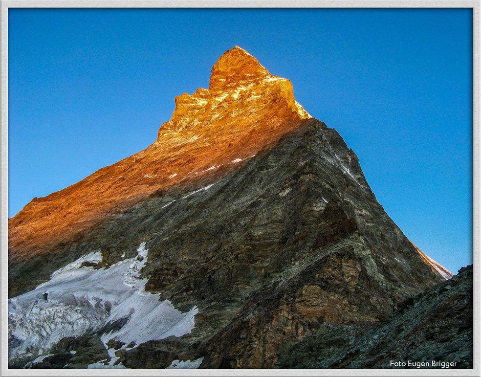 Matterhorn - Sonnenaufgang am goldenen Berg