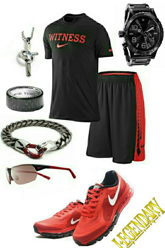 separation shoes 14b4c 47233 Mens fashion Nike gym outfit stylefromachitownerseye
