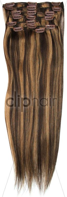 20 inch full head remy clip in human hair extensions brown full head clip in hair extensions chocolate brown dirty blonde strawberry blonde highlights from quality human hair worldwide free delivery free colour pmusecretfo Image collections