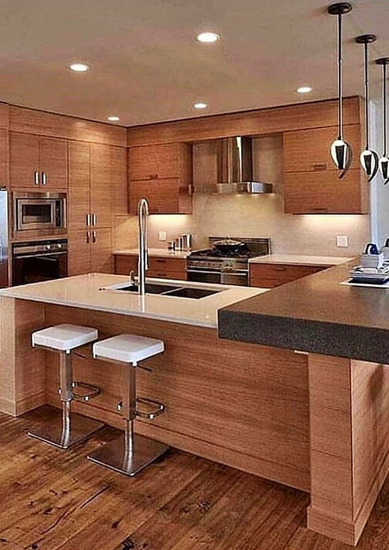 35 Design Idea For Those Who Want To Renovate Their Kitchen In Modern Style Page 24 Of 35 Lady Ideas Kitchen Decor Modern Kitchen Design Kitchen Design Kitchen designs photo gallery