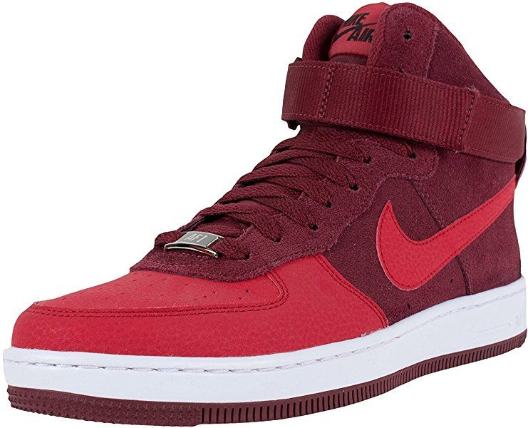 brand new 1b653 ead11 Amazon.com   Nike Air Force 1 Ultra Force Mid Gym Red Gym Red (WS) 5 B (M)  US   Basketball