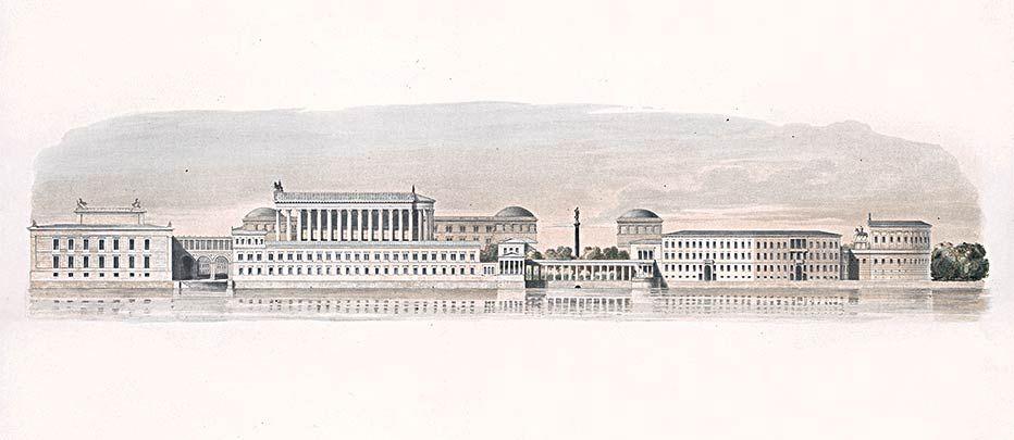 Historisches Gesamtkonzept Masterplan Museumsinsel Projektion Zukunft Museum Insel Museum Berlin Museum