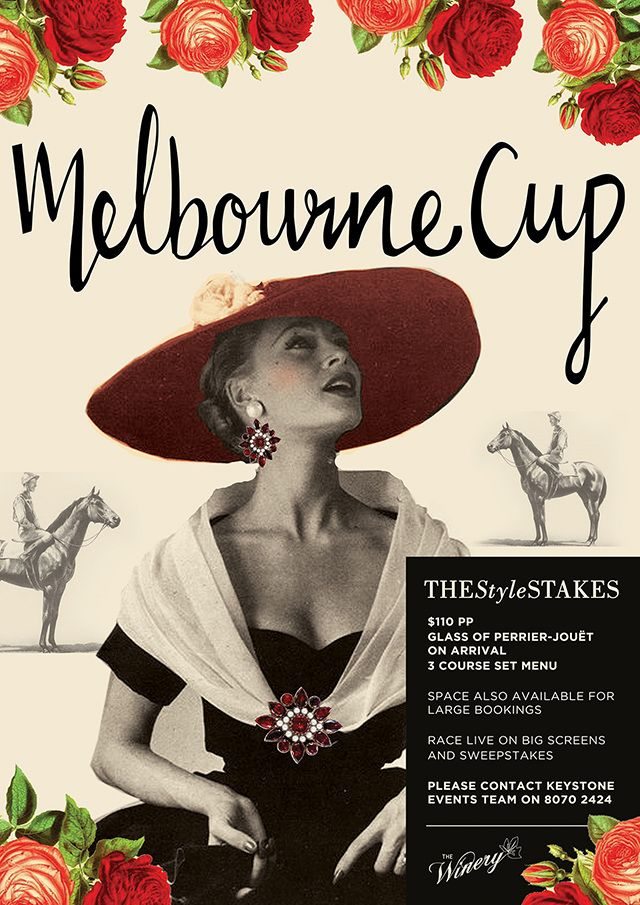 Sweepstakes templates for melbourne cup fashion