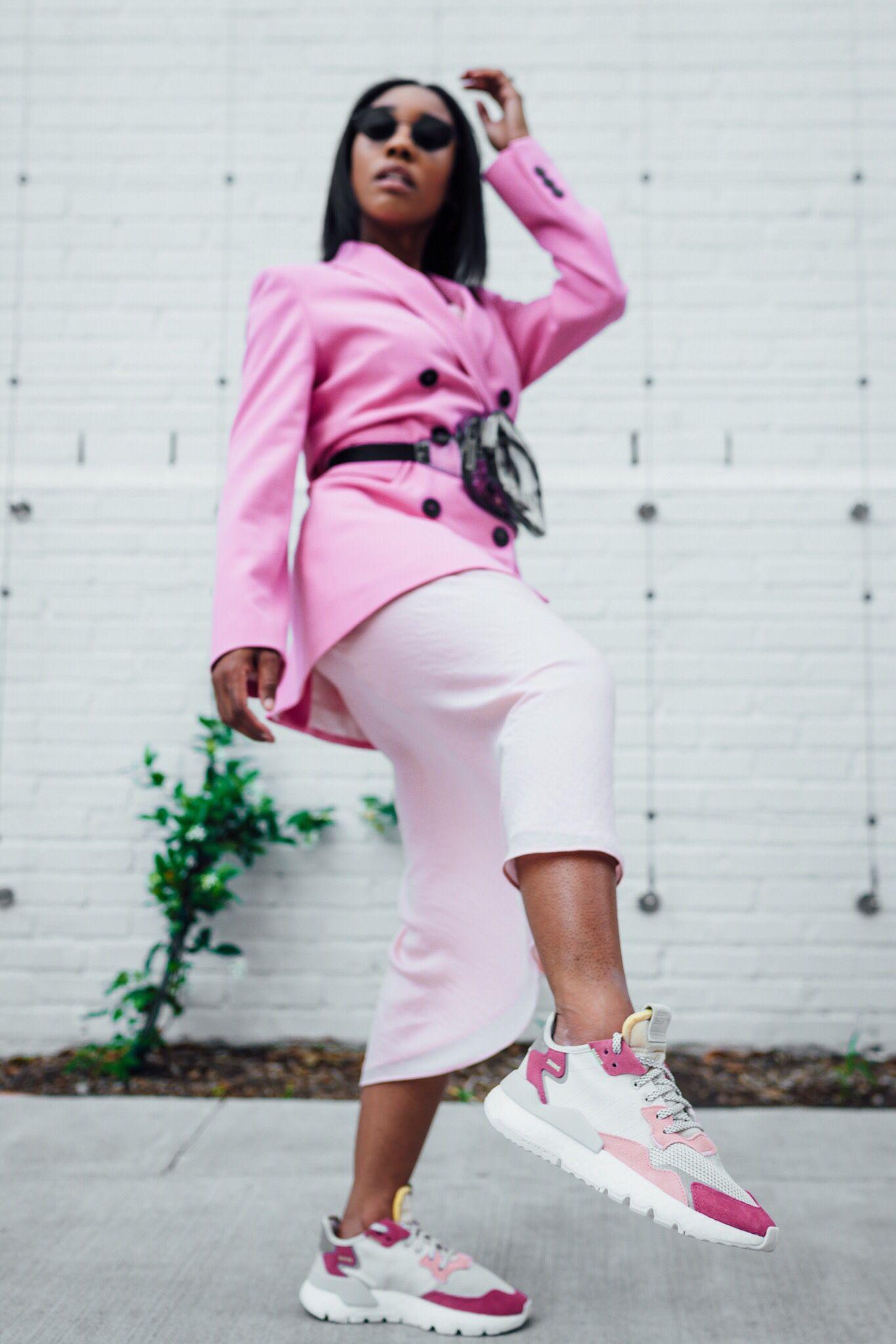 Adidas Nite Jogger Adidas Outfit Women Fashion Joggers Workwear Fashion