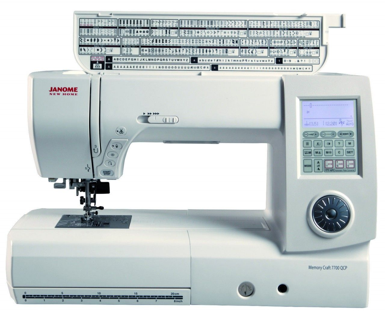 35+ Memory craft sewing machine info