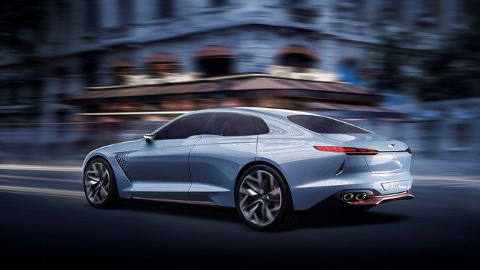 Hyundai Set To Challenge Bmw Audi Mercedes With Genesis Concept Hyundai Genesis Concept Cars Hyundai