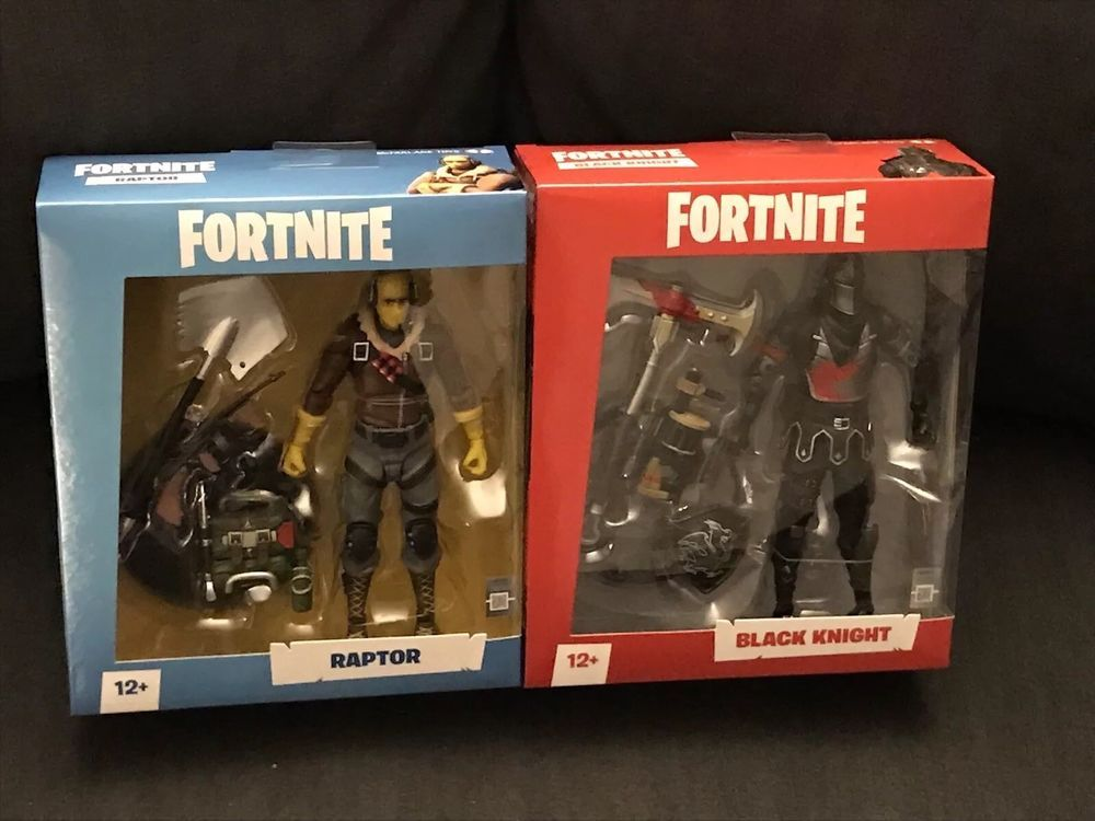Details About Mcfarlane Fortnite Raptor Black Knight 7 Inch Action