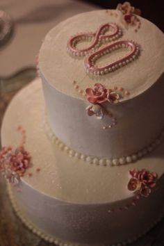 My Grandmother's 80th Birthday Cake Photo:  This Photo was uploaded by SillyMomLikesToBake. Find other My Grandmother's 80th Birthday Cake pictures and p...