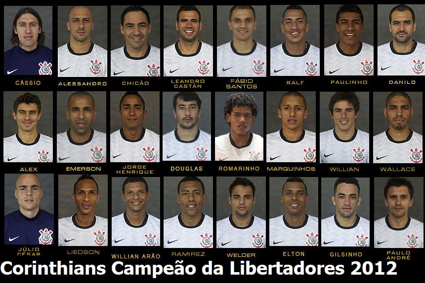 Poster Corinthians Campeao Libertadores 2012 Campeao Libertadores 2012 Corinthians Mundial