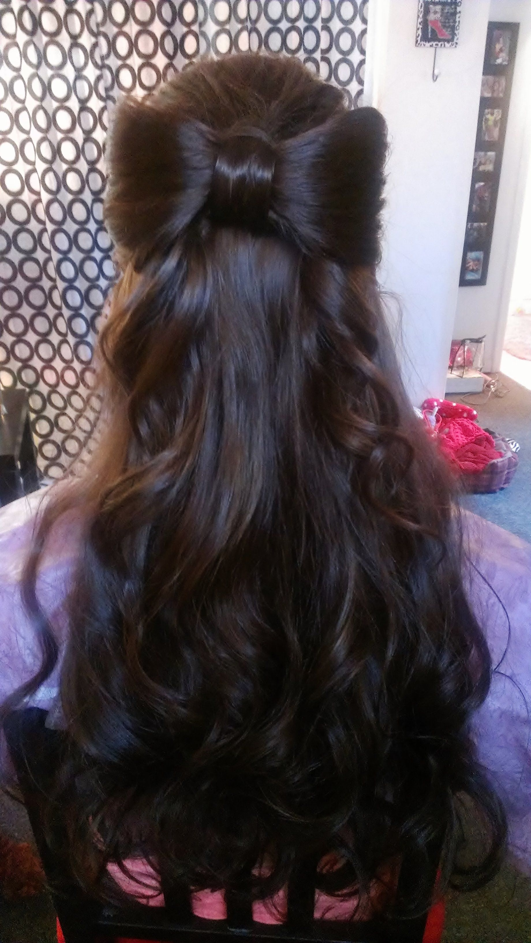 This hair color hair bow is cute too my style pinterest hair