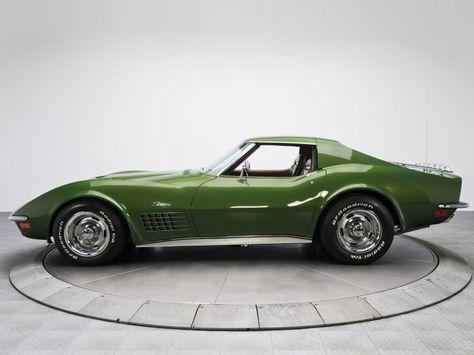 1970 Chevrolet Corvette Stingray 454 C3 Supercar Muscle Classic Fw Wallpaper Background