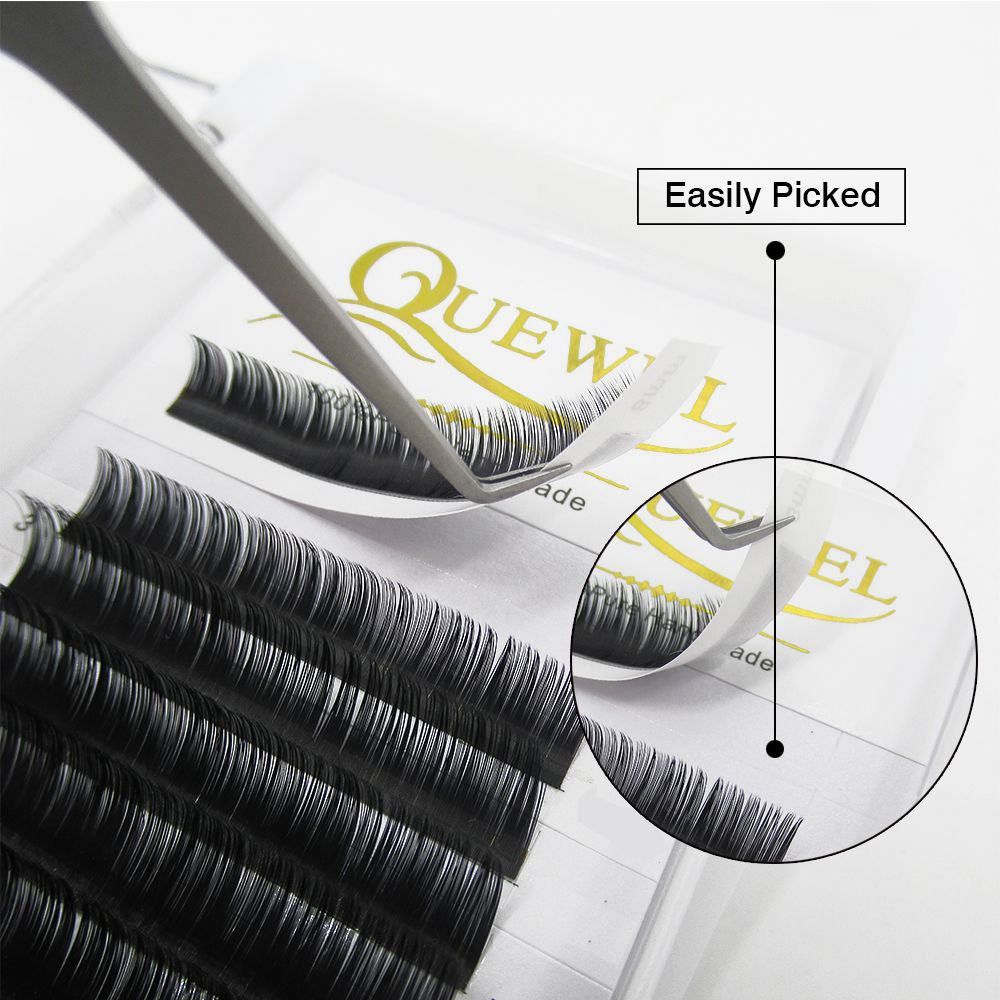 18b0510aced Hand Made Ellipse Eyelash Extensions, Wholesale Private Label Ellipse  Feather Lash, Custom Packaging Tray Lashes