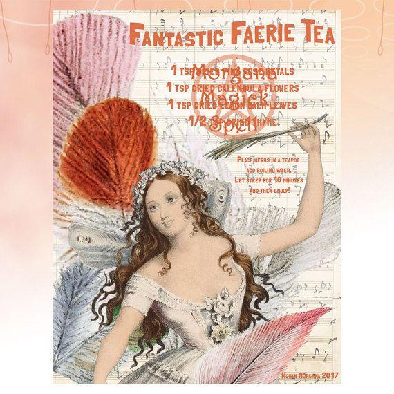 FAIRY TEA Fantastic Recipe - Instant Download