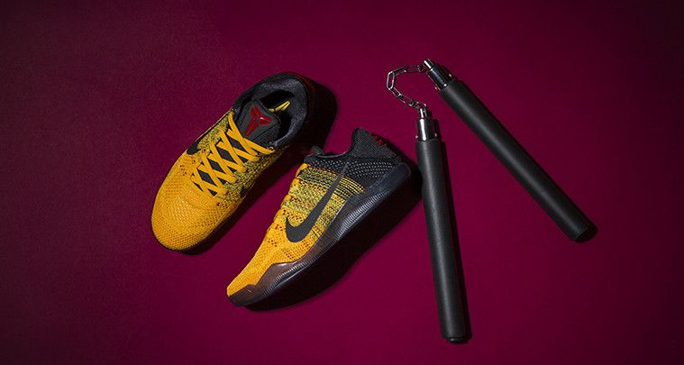 huge discount cae30 d7609 Nike Kobe 11 Bruce Lee