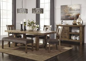 Dining Room Extension Table Tamilo Graybrown Rectangular Dining Room Extension Table W4 Side
