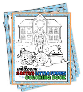 team umizoomi free christmas coloring pages