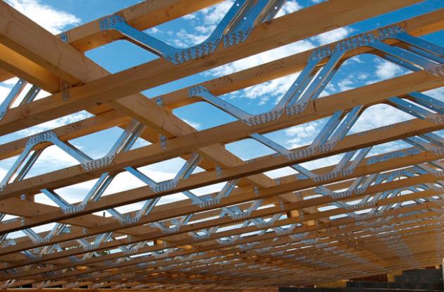 Vigas compuestas estructuras de madera pinterest madera estructuras de madera y vigas de - Tipos de vigas metalicas ...