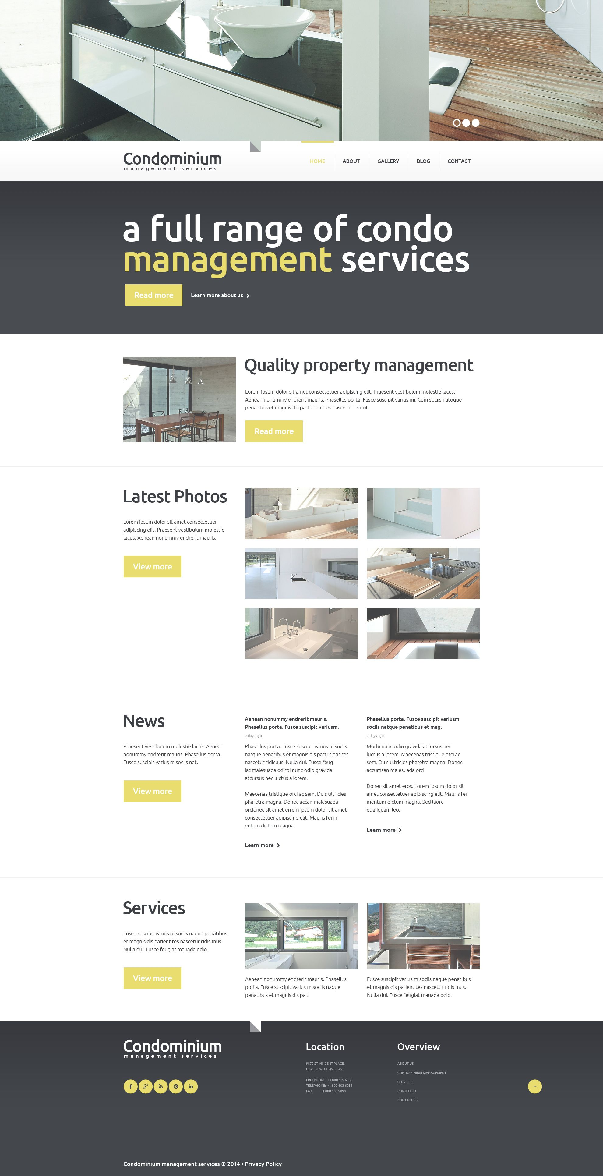 Mortgage Responsive Website Template #49241 | Website ...