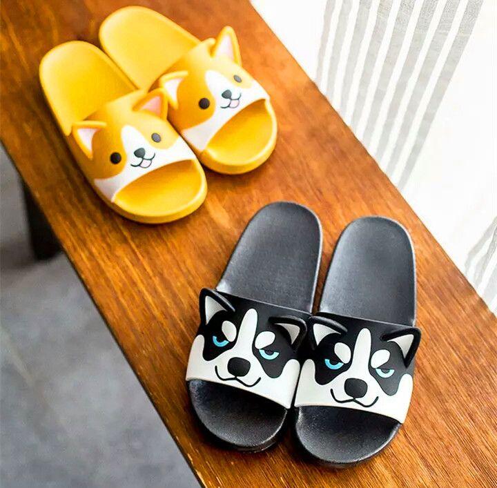 Cute Dog Slippers   Dog slippers