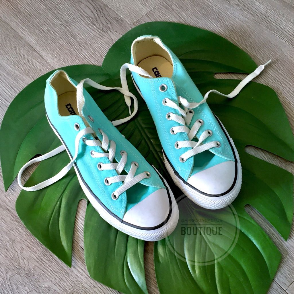 Chuck taylor shoes, Blue converse