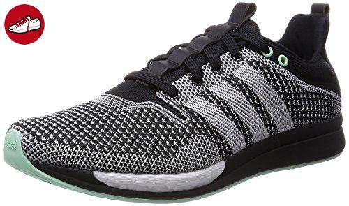 adidas adizero Feather Boost, Damen Laufschuhe, Schwarz (Black/Frozen Green  F15/