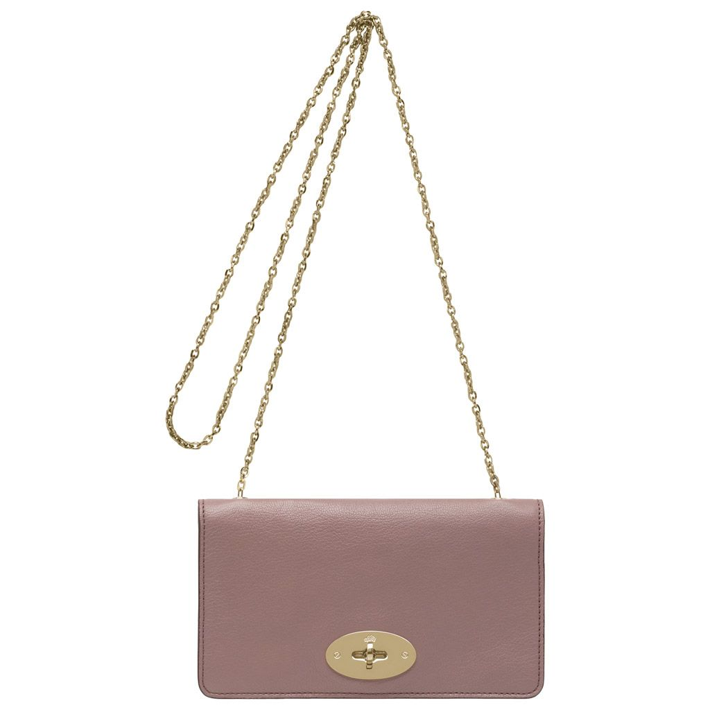 568f91c3847 Mulberry - Bayswater Clutch Wallet in Dark Blush Glossy Goat Leather 780.00