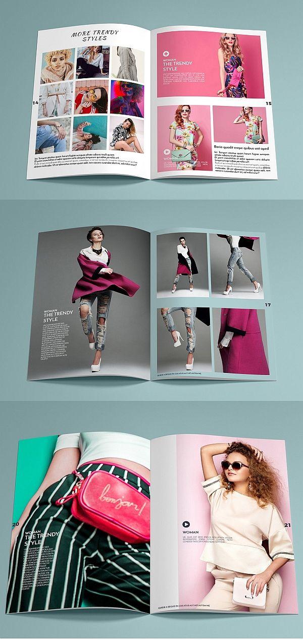 Allure Catalog Brochure Templates Pinterest Brochure template - fashion design brochure template