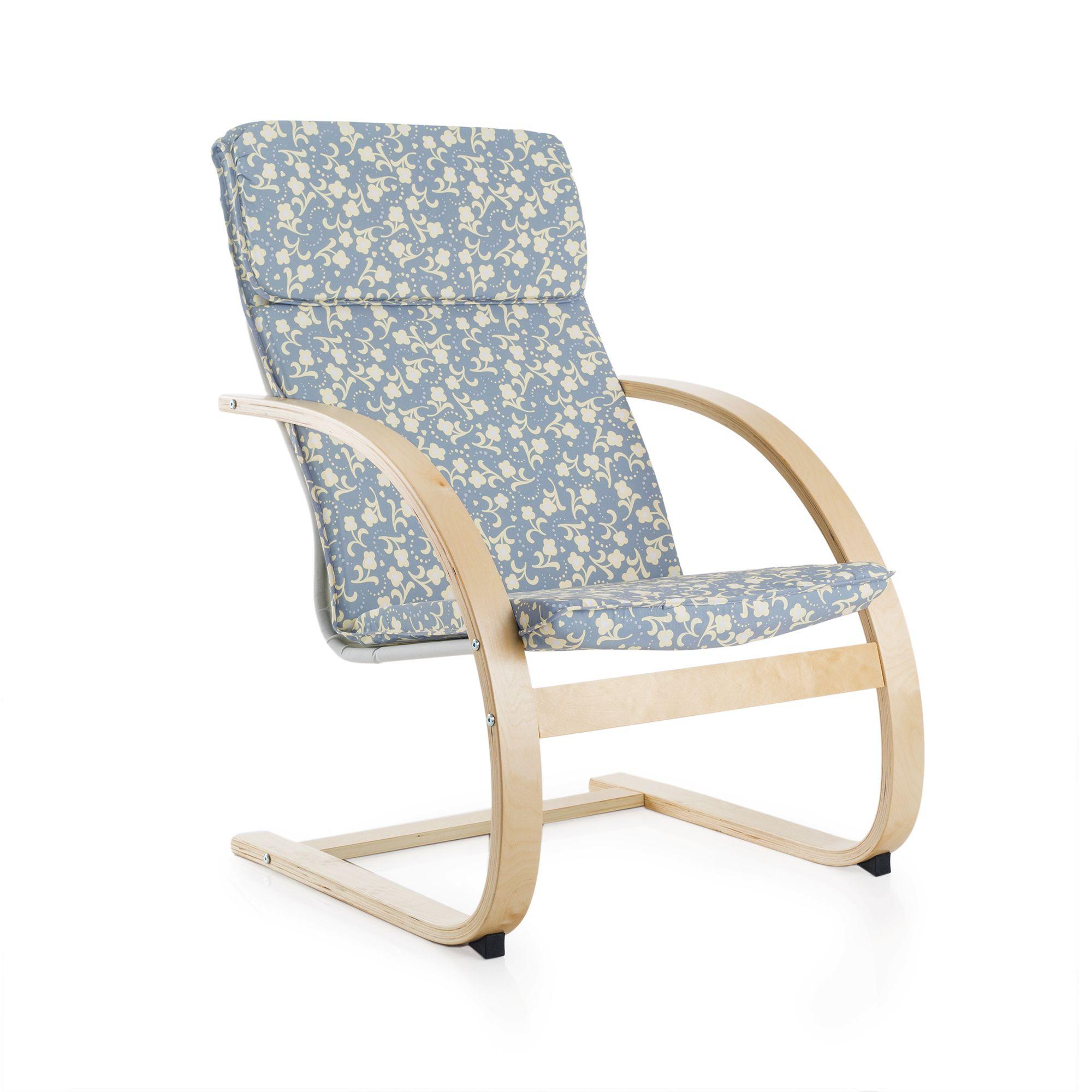 Guidecraft Pattern Teachers Rocking Chair (Pattern), Grey (Canvas)