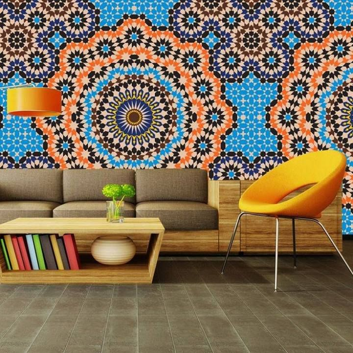 This is a moroccan inspired zellige wallpaper morocco for Moroccan style wallpaper