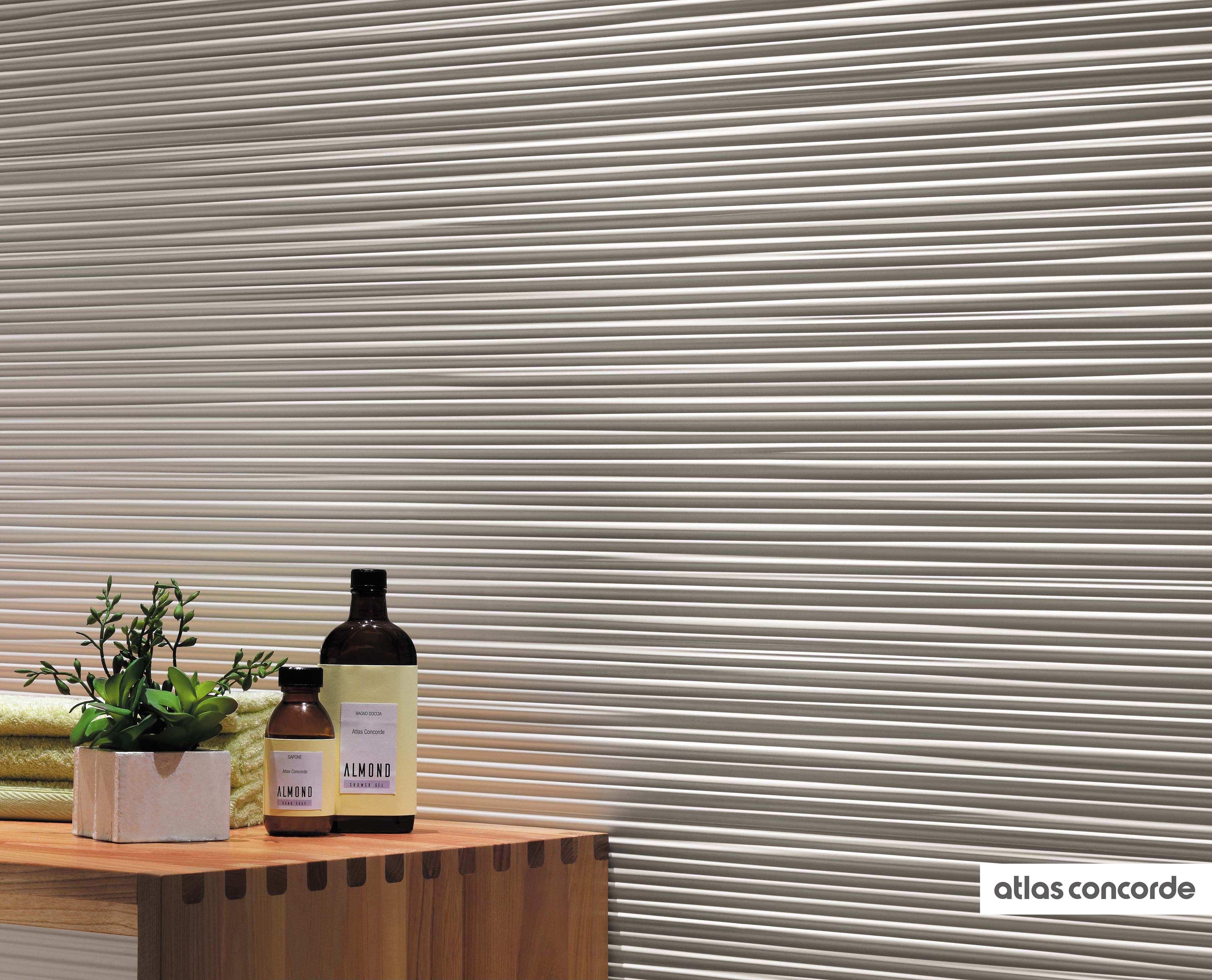 3D Wall Design Line Continous and defined lines to plan feature
