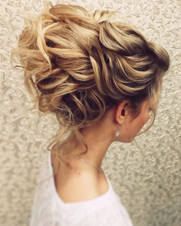 Messy Wedding Hairstyles: Gorgeous Messy Bridal Hair Updos