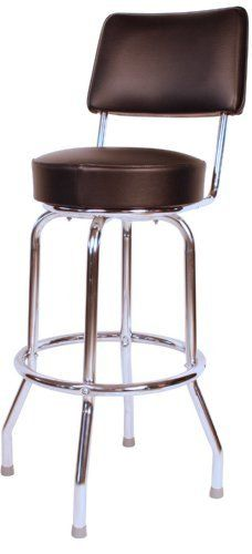 Heavy Duty Swivel Bar Stool With Back Made In The Usa By Budgetbarstools Http Www Dp B002sq0dg0 Ref Cm Sw R Pi Ax7qrb05g1dmw