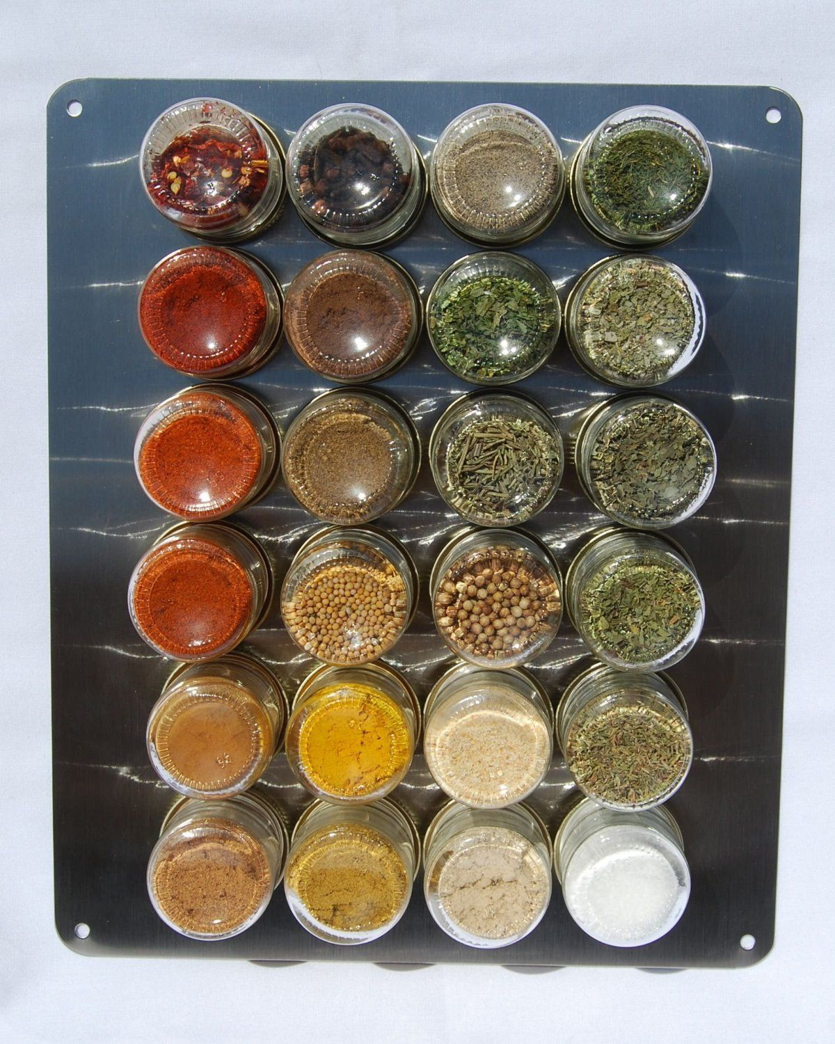 Organic Spice Rack Amazing Organic Magnetic Spice Rack With Spice Included Httpwwwamazonca Decorating Inspiration