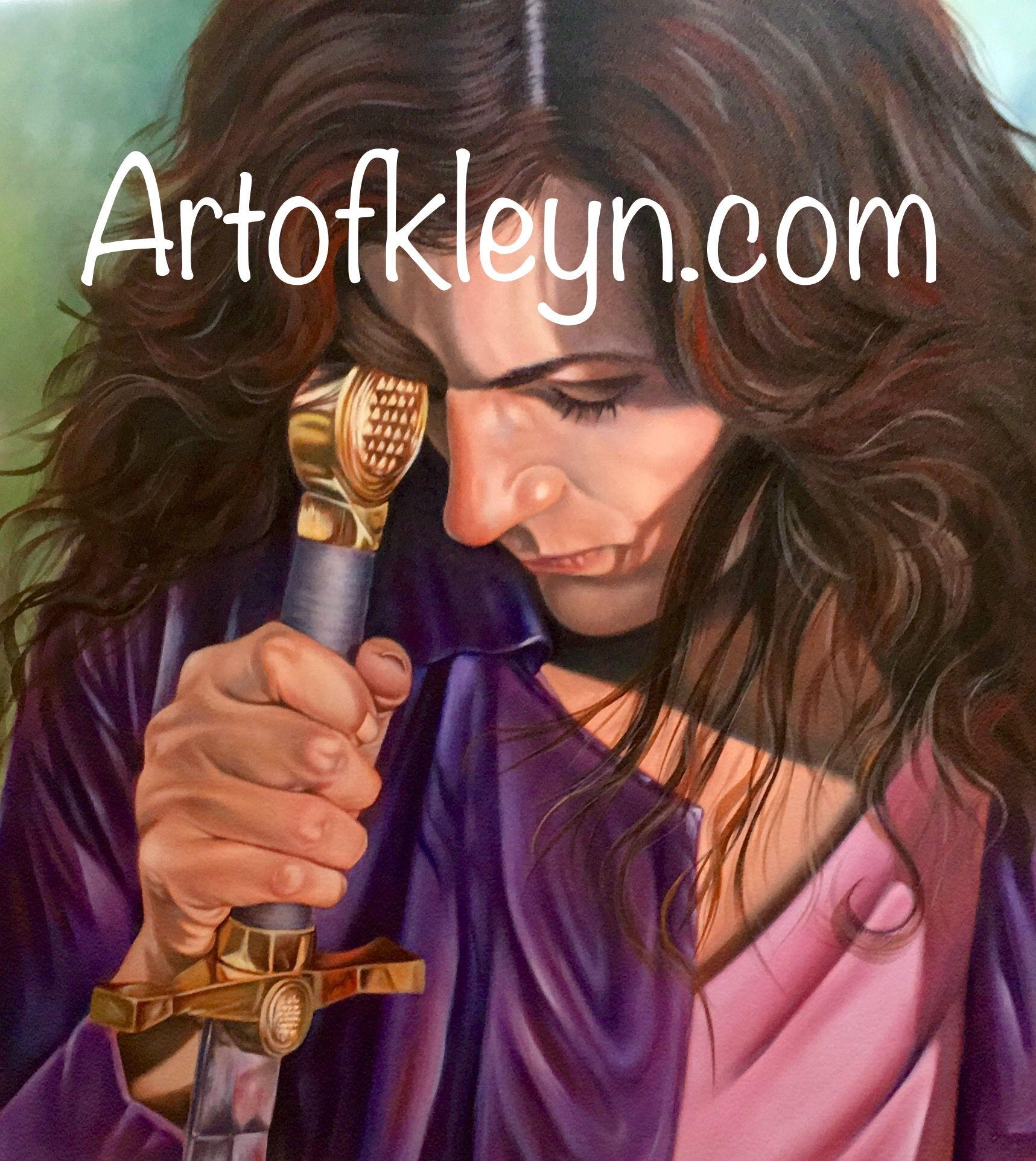 First Love By Ilse Kleyn Oil On Canvas