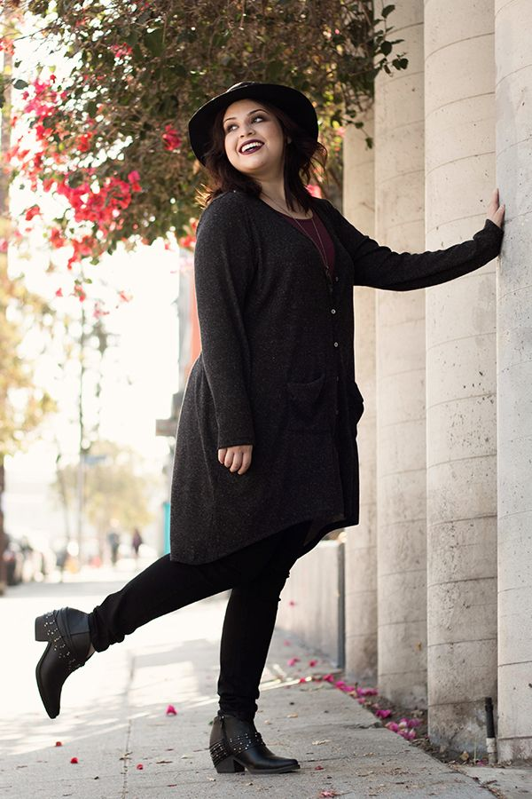 9267e28647c8 Black Madison Cardigan ☆ - Living Doll Los Angeles Plus Size Hipster, Plus  Size Grunge