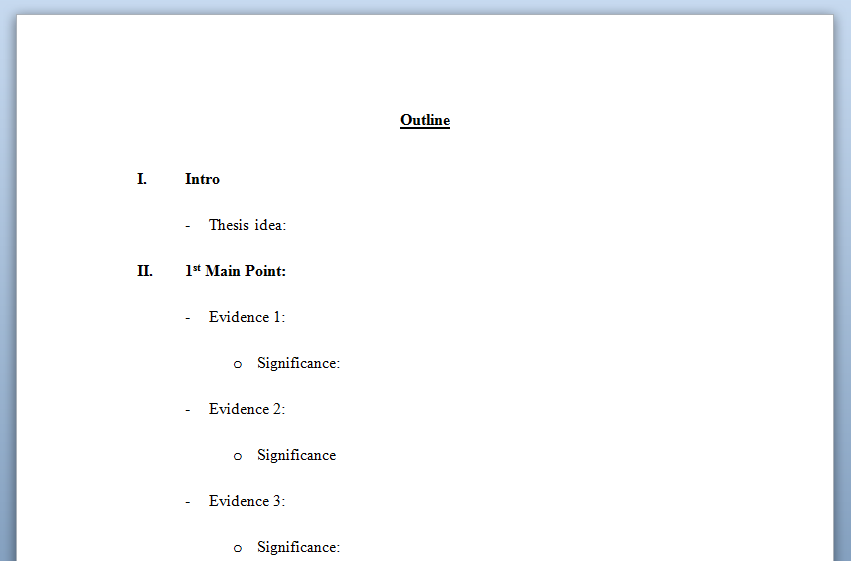 How To Plan A College Paper Writing College Essay Essay
