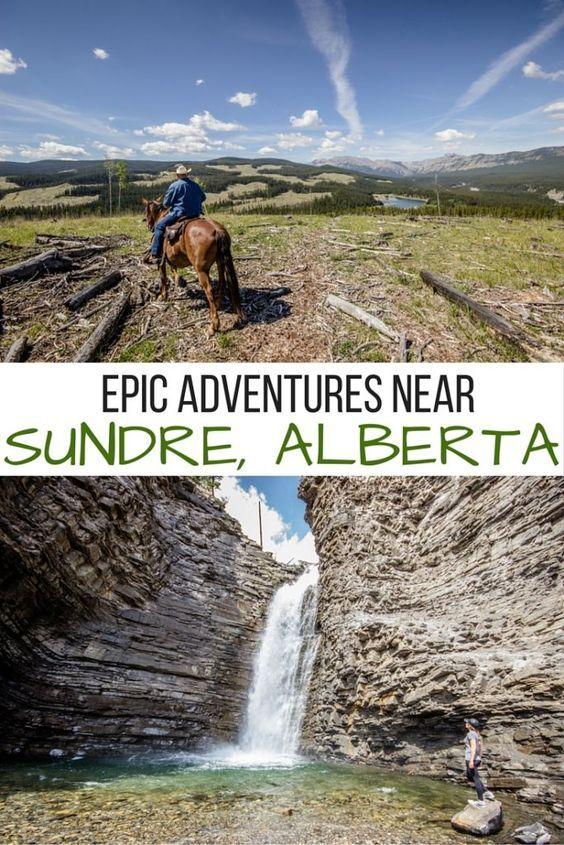 Epic outdoor adventures in and around Sundre, Alberta