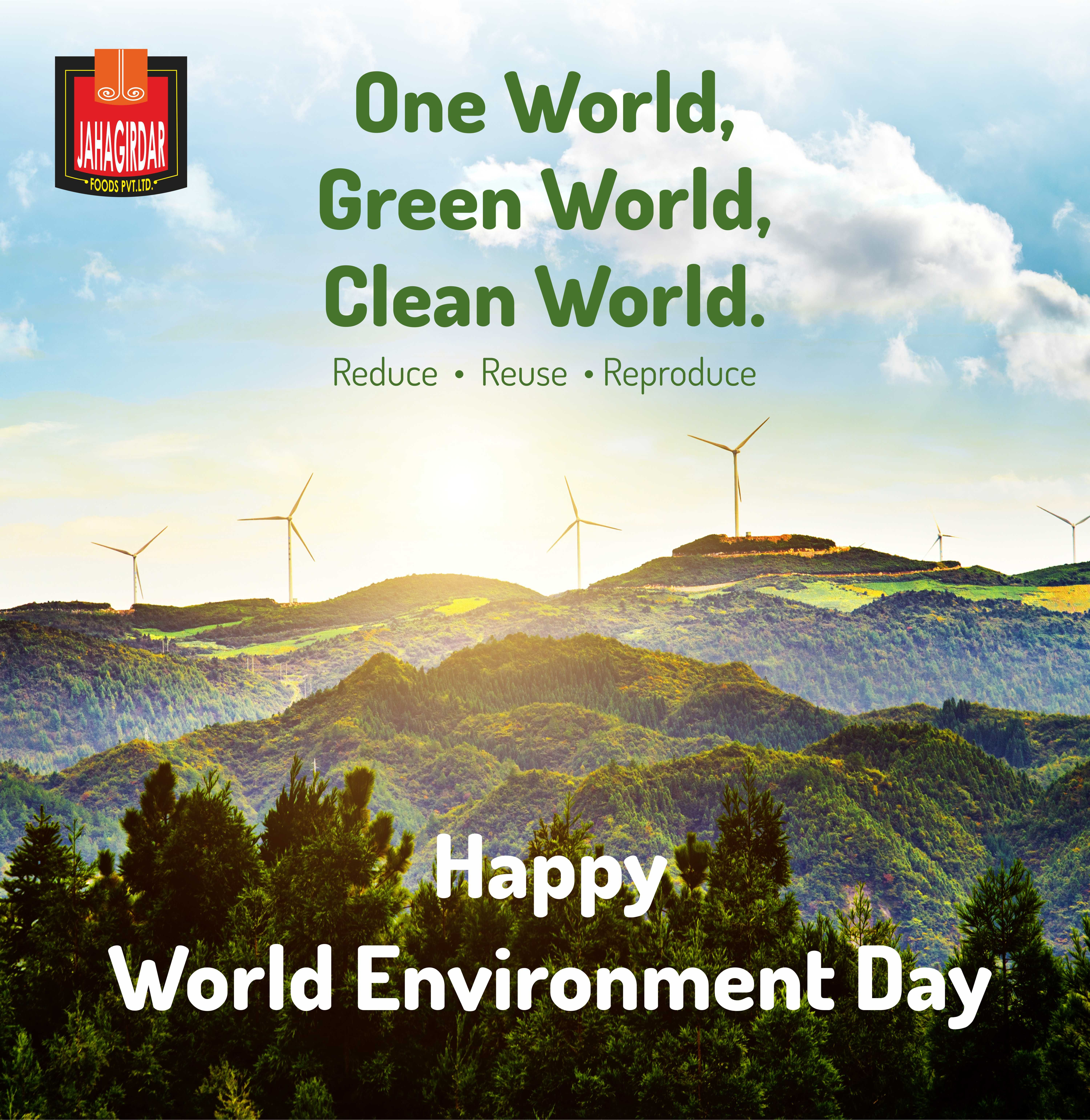 keep our environment clean and green