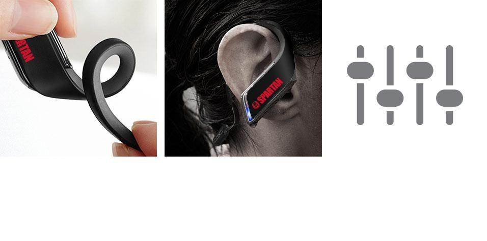Limited Edition Spartan Version - WINGS™ Premium Wireless Bluetooth® Sport Clips - RP-BTS50P1-K - Panasonic US